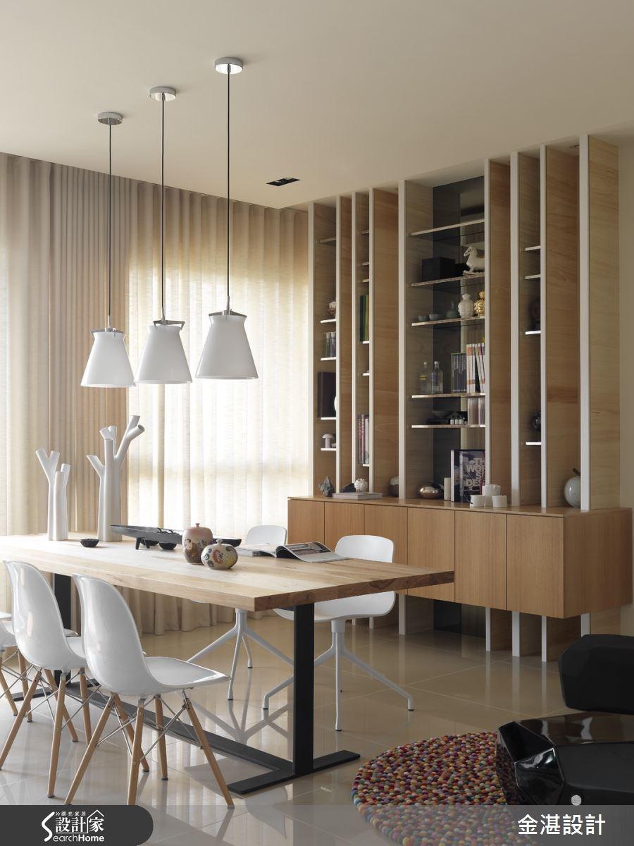 40坪新成屋(5年以下)_現代風餐廳案例圖片_金湛空間設計_金湛_08之4