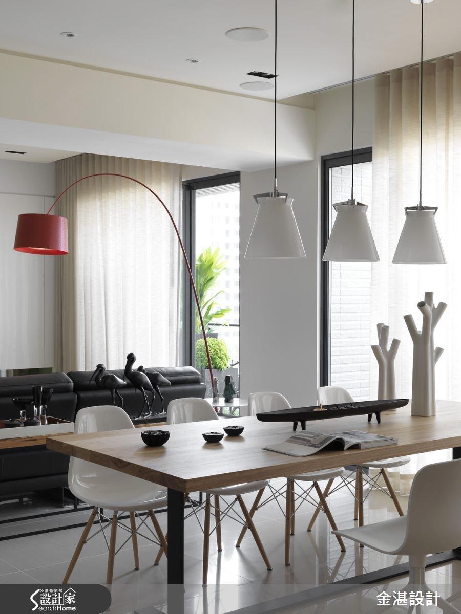 40坪新成屋(5年以下)_現代風餐廳案例圖片_金湛空間設計_金湛_08之3