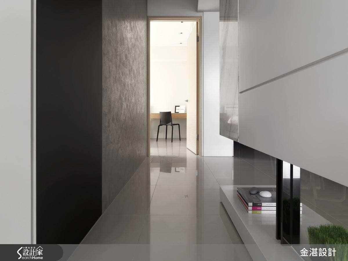25坪預售屋_混搭風走廊案例圖片_金湛空間設計_金湛_09之2