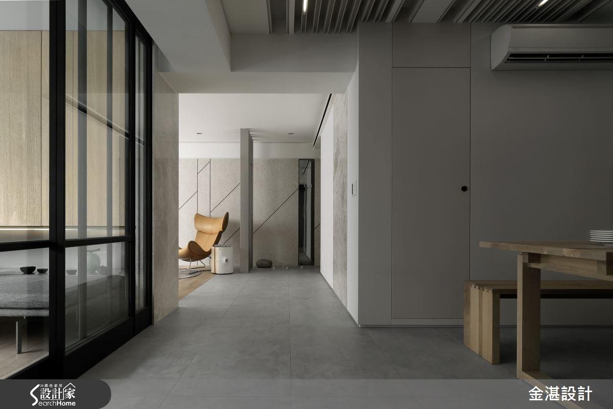 35坪老屋(16~30年)_混搭風走廊案例圖片_金湛空間設計_金湛_11之4
