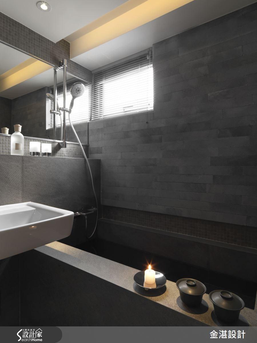 35坪老屋(16~30年)_混搭風浴室案例圖片_金湛空間設計_金湛_11之19