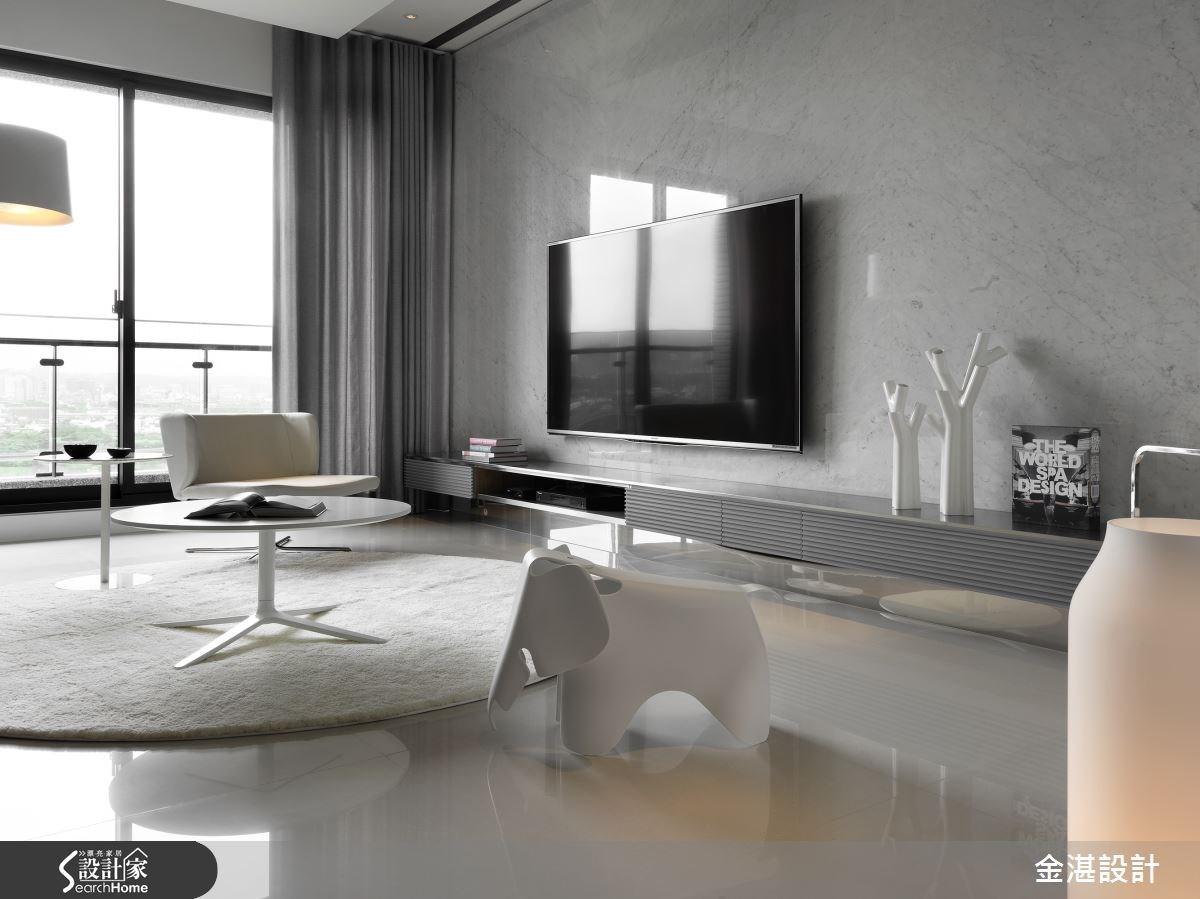 40坪新成屋(5年以下)_現代風客廳案例圖片_金湛空間設計_金湛_12之3
