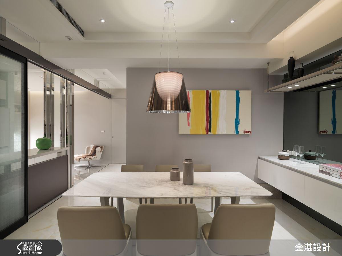 45坪新成屋(5年以下)_混搭風餐廳案例圖片_金湛空間設計_金湛_15之3