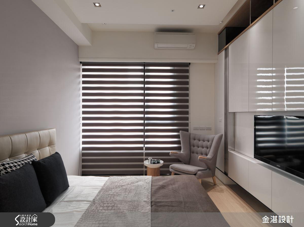45坪新成屋(5年以下)_混搭風臥室案例圖片_金湛空間設計_金湛_15之11