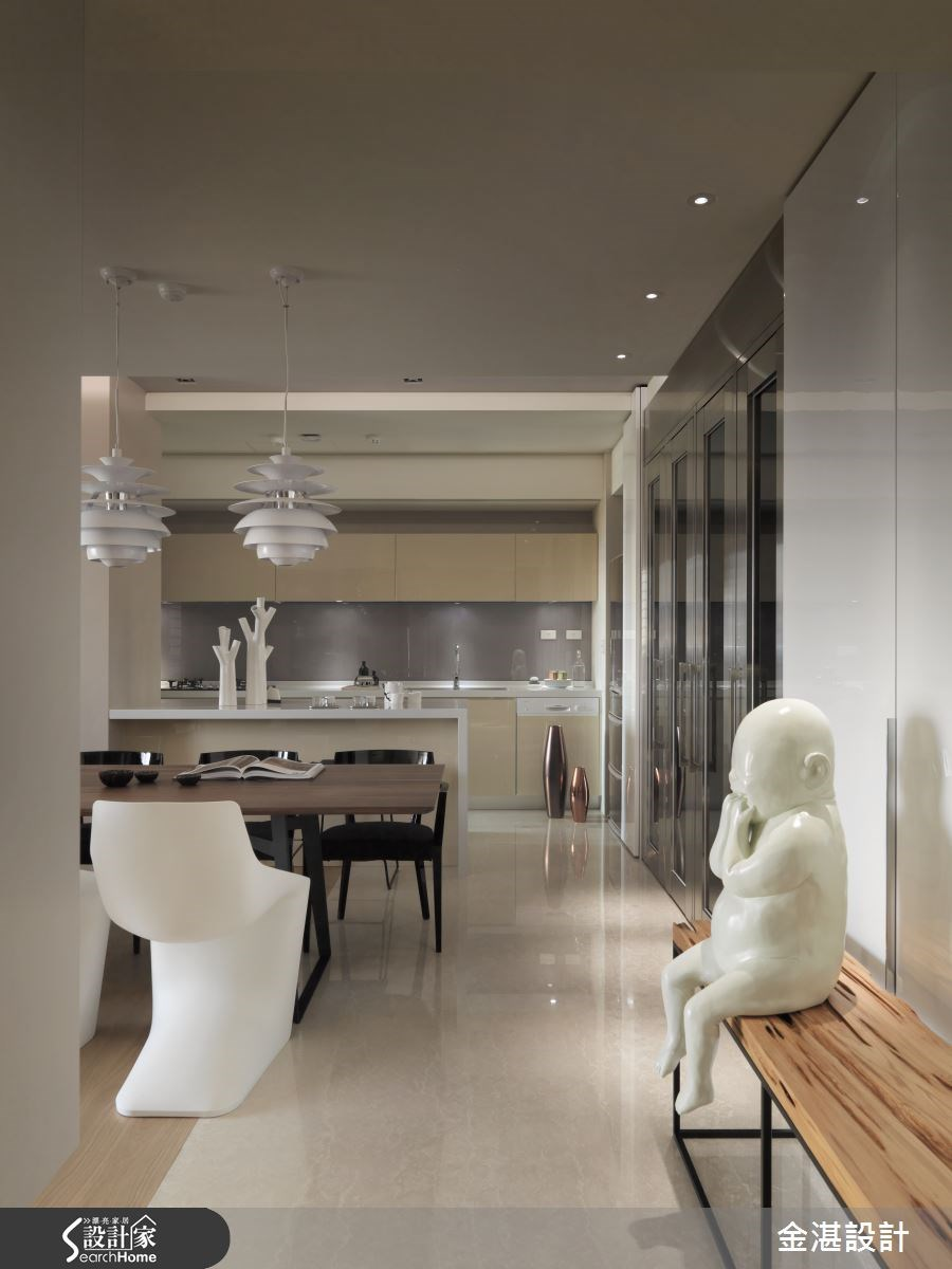 40坪新成屋(5年以下)_現代風餐廳案例圖片_金湛空間設計_金湛_17之3