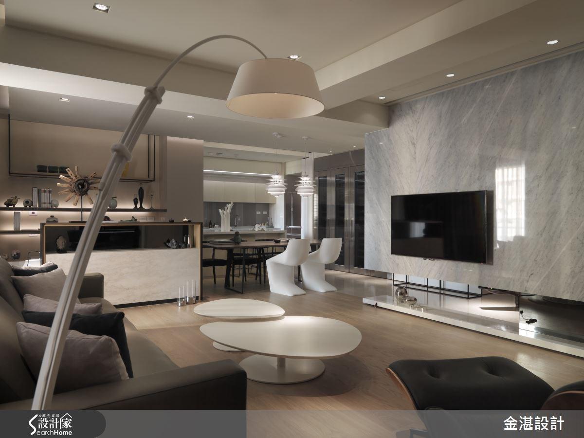 40坪新成屋(5年以下)_現代風客廳案例圖片_金湛空間設計_金湛_17之4