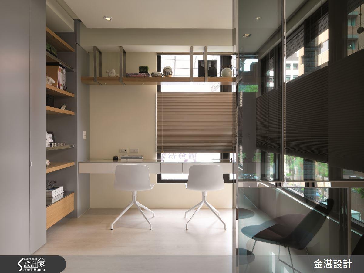 12 坪也能創造出五臟俱全的現代風工作室!