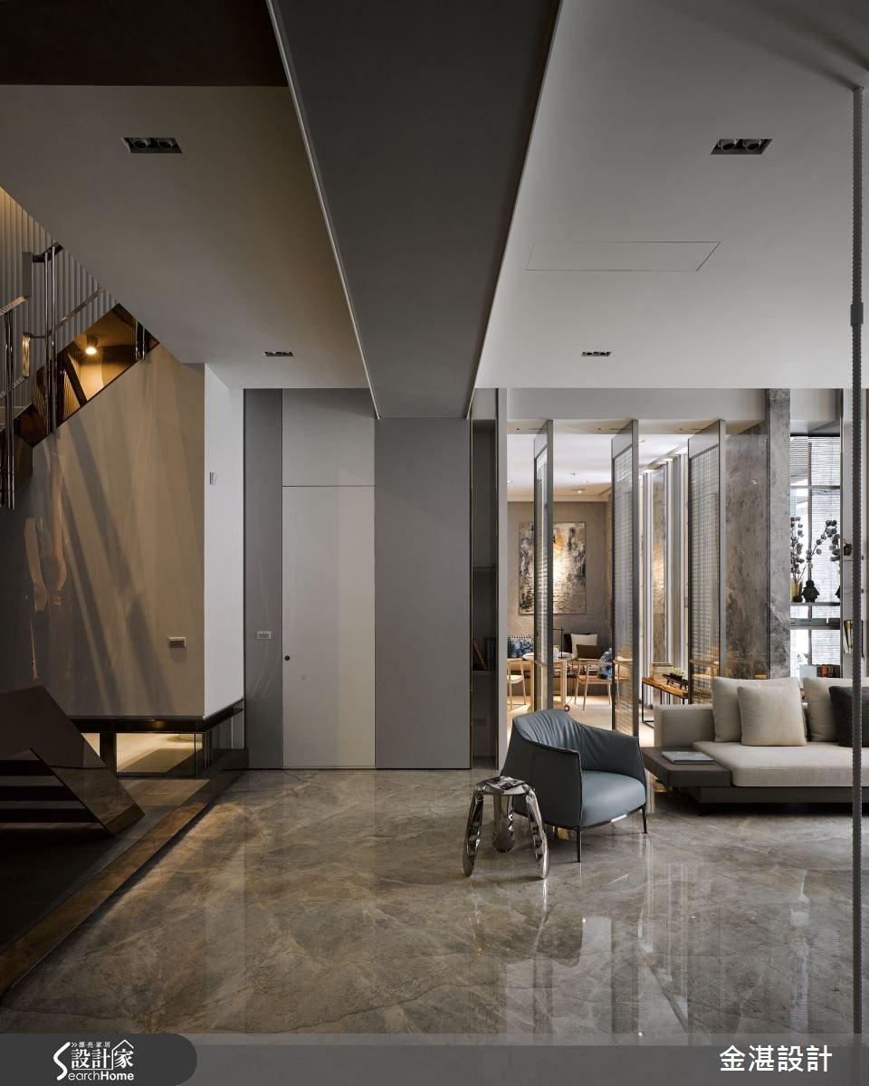 150坪新成屋(5年以下)_現代風客廳案例圖片_金湛空間設計_金湛_21之2