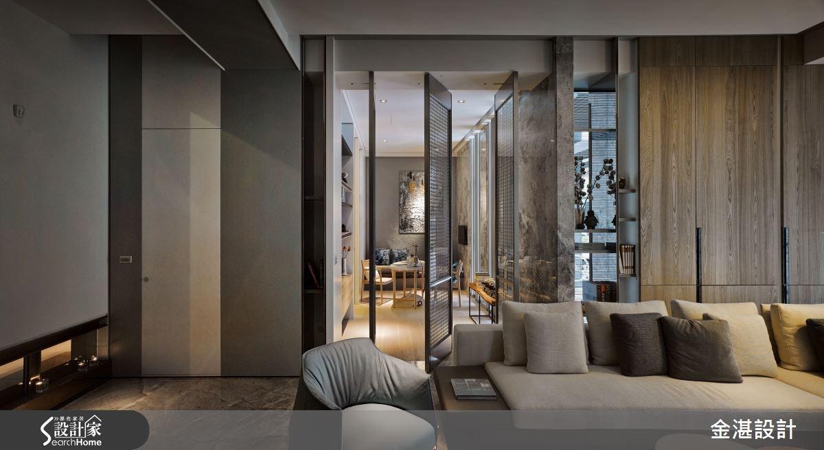 150坪新成屋(5年以下)_現代風客廳案例圖片_金湛空間設計_金湛_21之3
