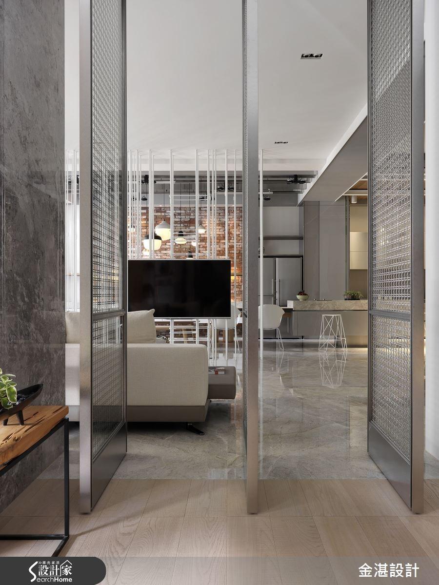 150坪新成屋(5年以下)_現代風客廳案例圖片_金湛空間設計_金湛_21之4