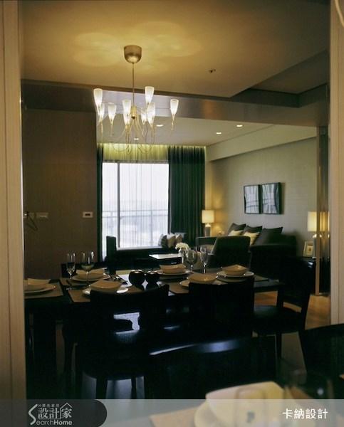 40坪新成屋(5年以下)_奢華風餐廳案例圖片_卡納文創/品納設計_卡納_02之6