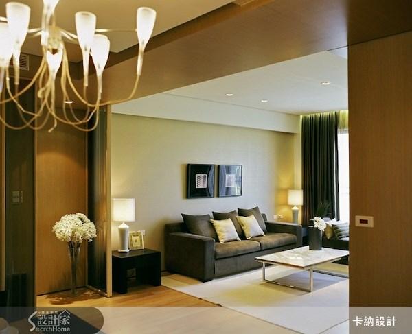 40坪新成屋(5年以下)_奢華風客廳案例圖片_卡納文創/品納設計_卡納_02之4