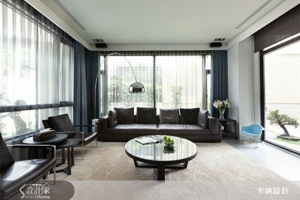 60坪新成屋(5年以下)_現代風客廳案例圖片_卡納文創/品納設計_卡納_04之4