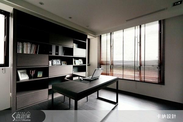 60坪新成屋(5年以下)_現代風書房案例圖片_卡納文創/品納設計_卡納_04之5