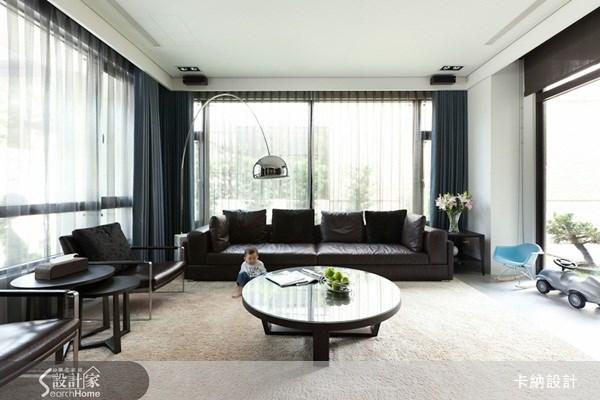 60坪新成屋(5年以下)_現代風客廳案例圖片_卡納文創/品納設計_卡納_04之2