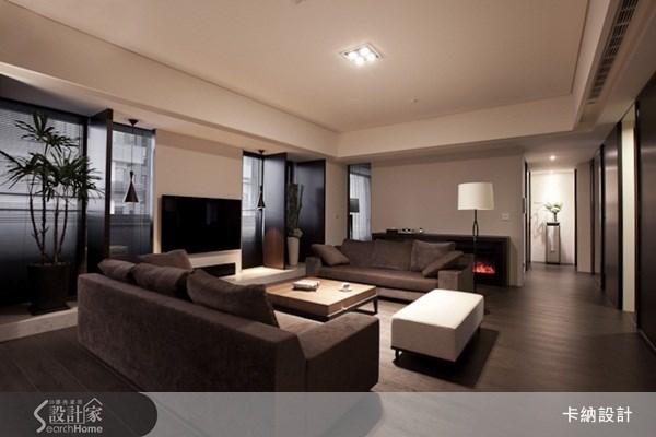 30坪新成屋(5年以下)_現代風客廳案例圖片_卡納文創/品納設計_卡納_05之2