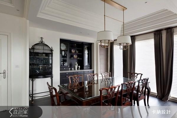 60坪新成屋(5年以下)_新古典餐廳案例圖片_卡納文創/品納設計_卡納_07之9