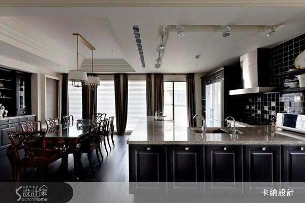 60坪新成屋(5年以下)_新古典餐廳案例圖片_卡納文創/品納設計_卡納_07之11