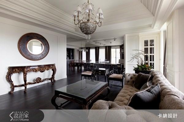 60坪新成屋(5年以下)_新古典客廳案例圖片_卡納文創/品納設計_卡納_07之2