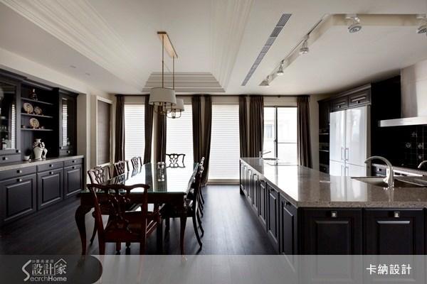 60坪新成屋(5年以下)_新古典餐廳案例圖片_卡納文創/品納設計_卡納_07之10