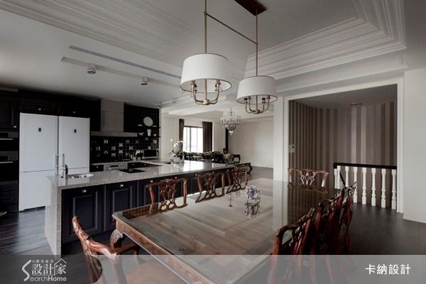 60坪新成屋(5年以下)_新古典餐廳案例圖片_卡納文創/品納設計_卡納_07之12