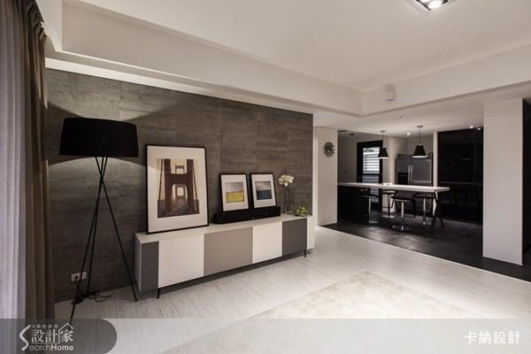 40坪新成屋(5年以下)_簡約風客廳案例圖片_卡納文創/品納設計_卡納_08之3
