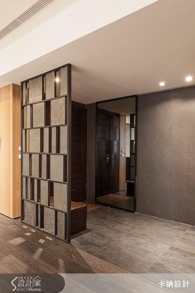 40坪新成屋(5年以下)_奢華風玄關案例圖片_卡納文創/品納設計_卡納_09之1