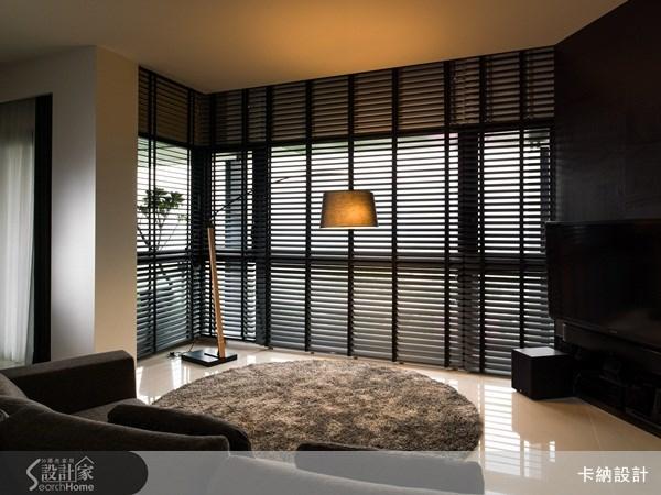 30坪新成屋(5年以下)_簡約風客廳案例圖片_卡納文創/品納設計_卡納_11之2