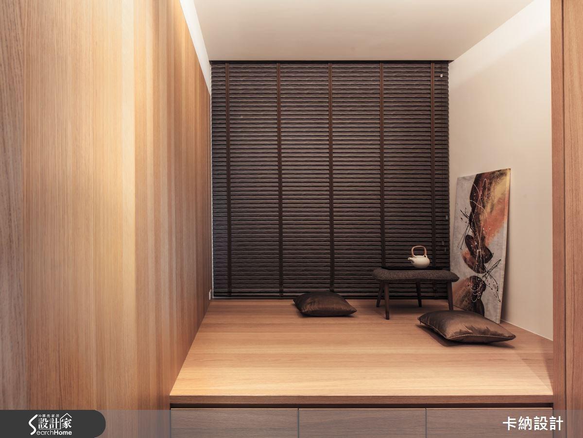 45坪新成屋(5年以下)_簡約風和室案例圖片_卡納文創/品納設計_卡納_13之1