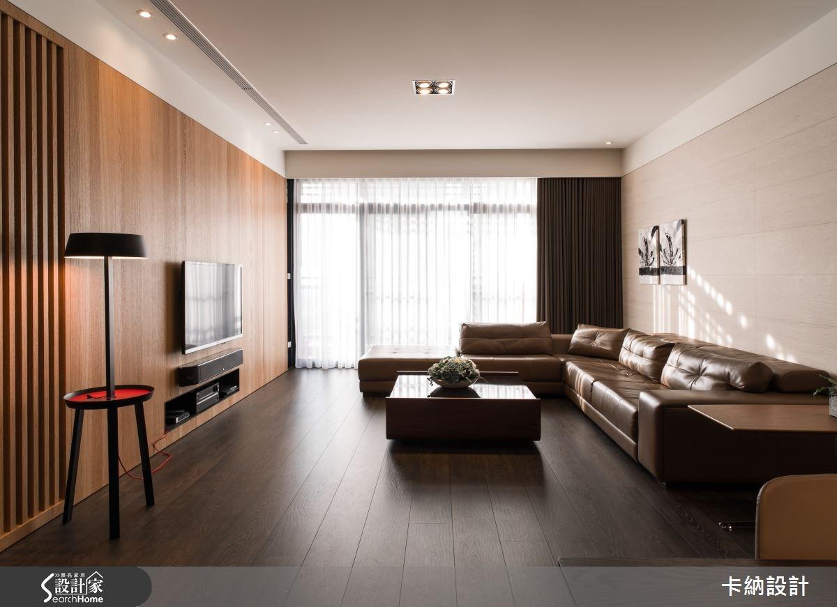 45坪新成屋(5年以下)_簡約風客廳案例圖片_卡納文創/品納設計_卡納_13之2