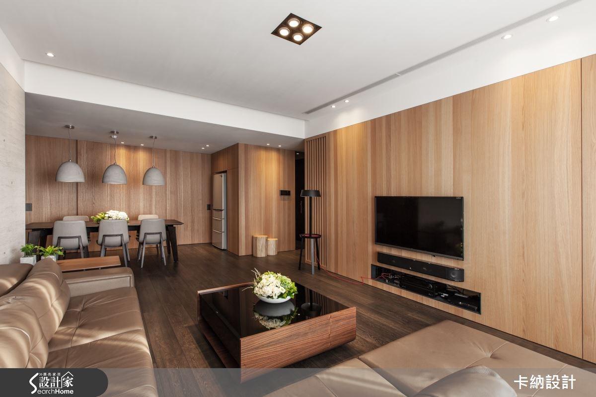 45坪新成屋(5年以下)_簡約風客廳案例圖片_卡納文創/品納設計_卡納_13之4