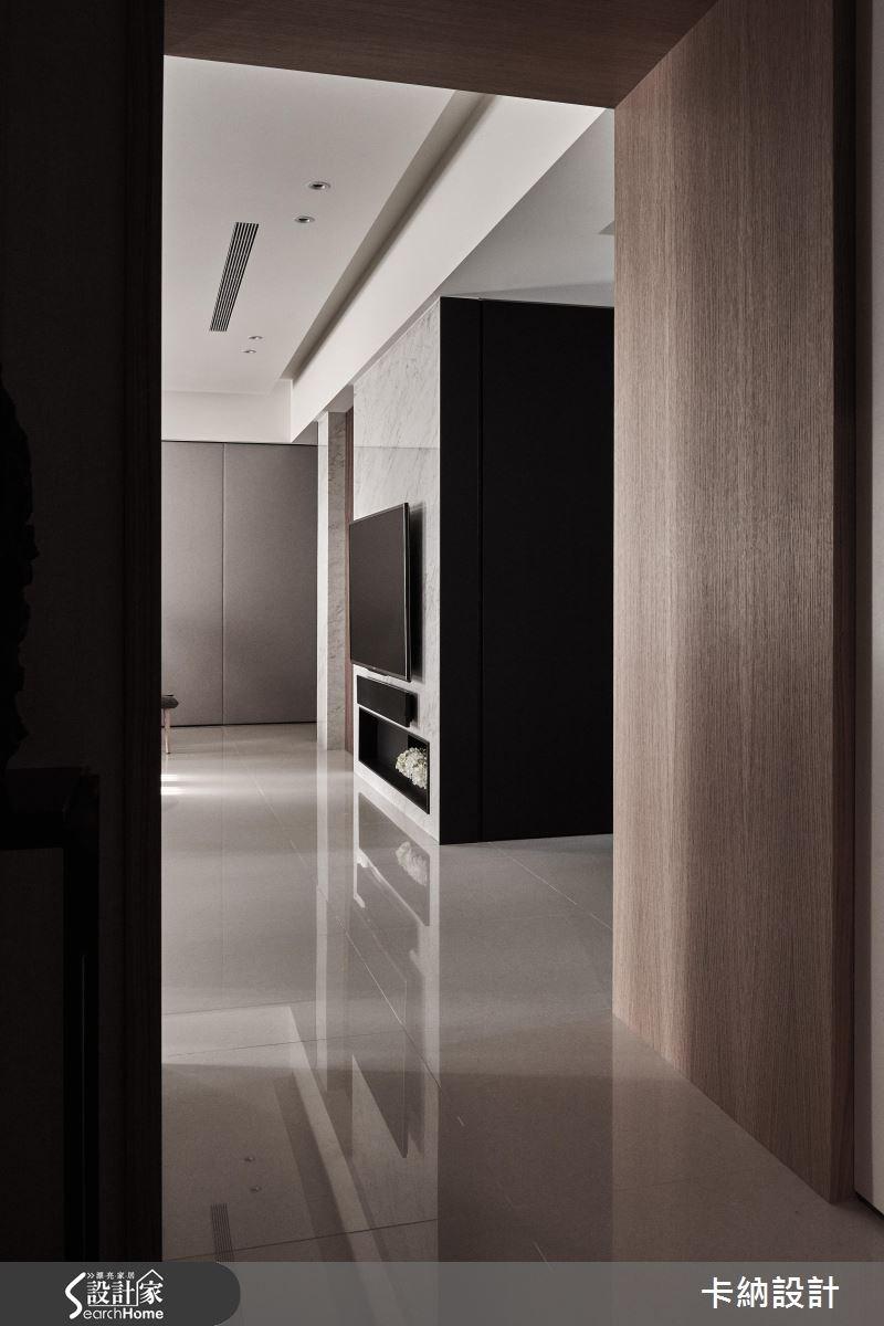 45坪新成屋(5年以下)_奢華風客廳案例圖片_卡納文創/品納設計_卡納_15之1