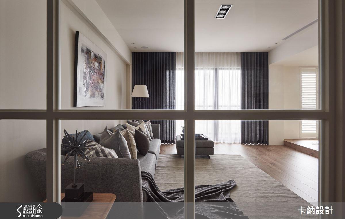 40坪預售屋_奢華風客廳案例圖片_卡納文創/品納設計_卡納_18之2