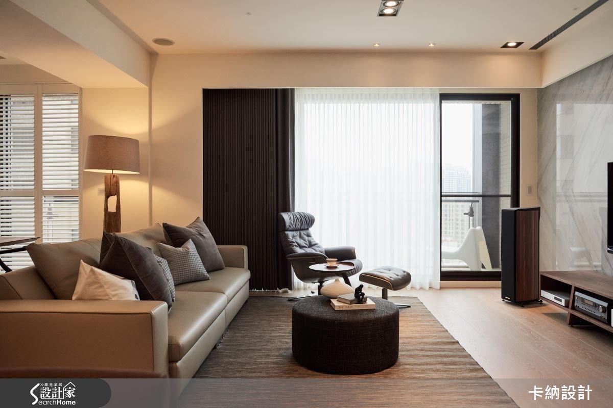 40坪新成屋(5年以下)_現代風客廳案例圖片_卡納文創/品納設計_卡納_19之3