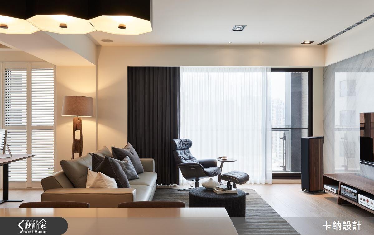40坪新成屋(5年以下)_現代風客廳案例圖片_卡納文創/品納設計_卡納_19之4