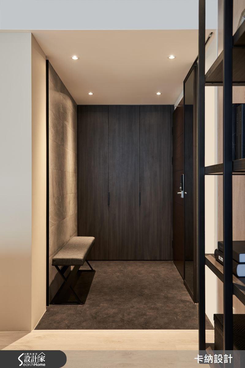 40坪新成屋(5年以下)_現代風走廊案例圖片_卡納文創/品納設計_卡納_21之2
