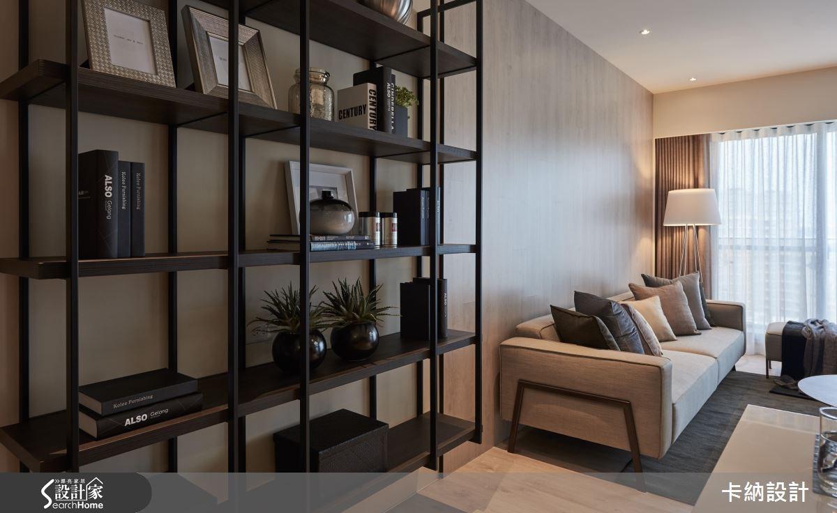 40坪新成屋(5年以下)_現代風客廳案例圖片_卡納文創/品納設計_卡納_21之4