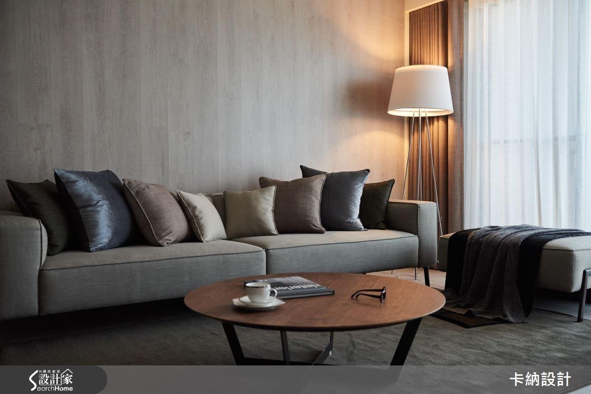 40坪新成屋(5年以下)_現代風客廳案例圖片_卡納文創/品納設計_卡納_21之7
