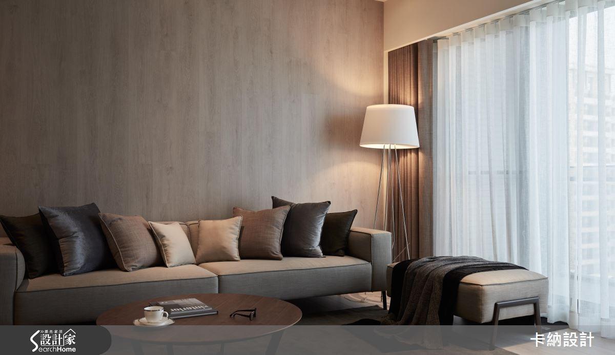 40坪新成屋(5年以下)_現代風客廳案例圖片_卡納文創/品納設計_卡納_21之8