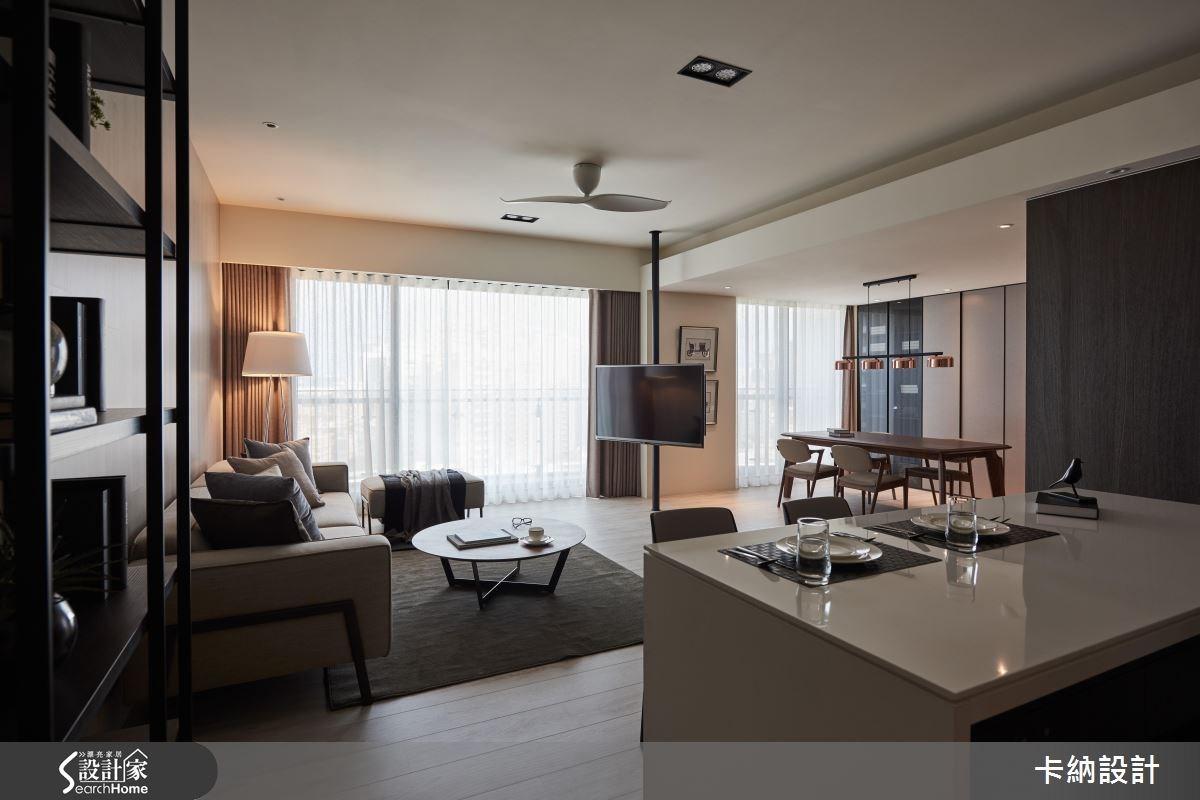 40坪新成屋(5年以下)_現代風餐廳案例圖片_卡納文創/品納設計_卡納_21之17