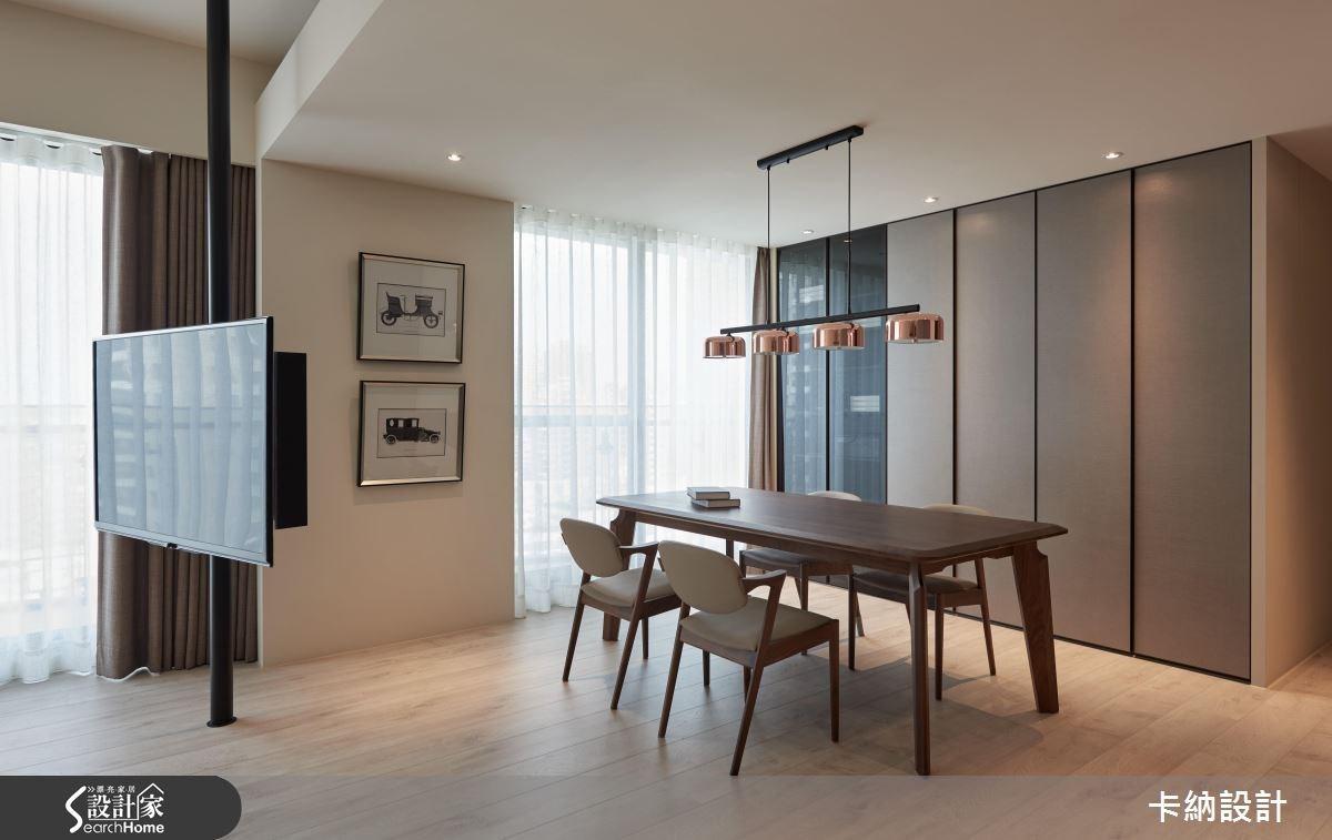40坪新成屋(5年以下)_現代風餐廳案例圖片_卡納文創/品納設計_卡納_21之18
