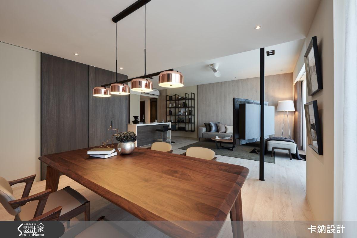 40坪新成屋(5年以下)_現代風餐廳案例圖片_卡納文創/品納設計_卡納_21之21