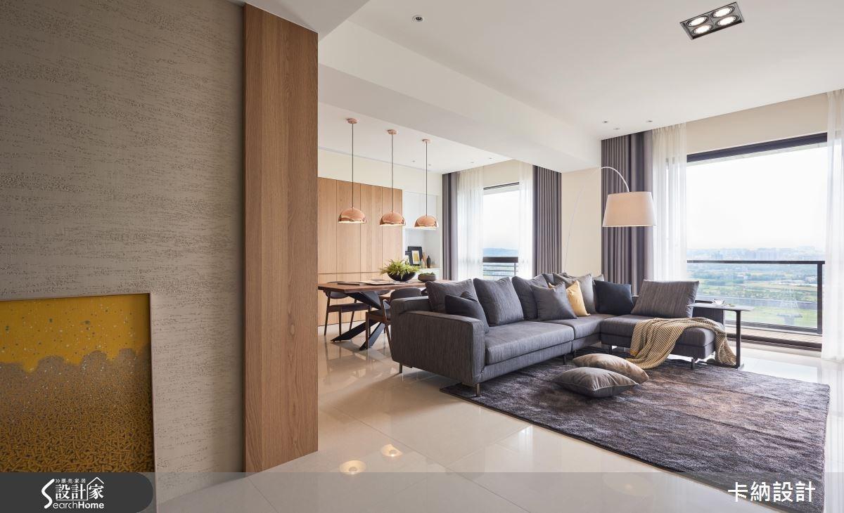 40坪新成屋(5年以下)_現代風客廳案例圖片_卡納文創/品納設計_卡納_22之2