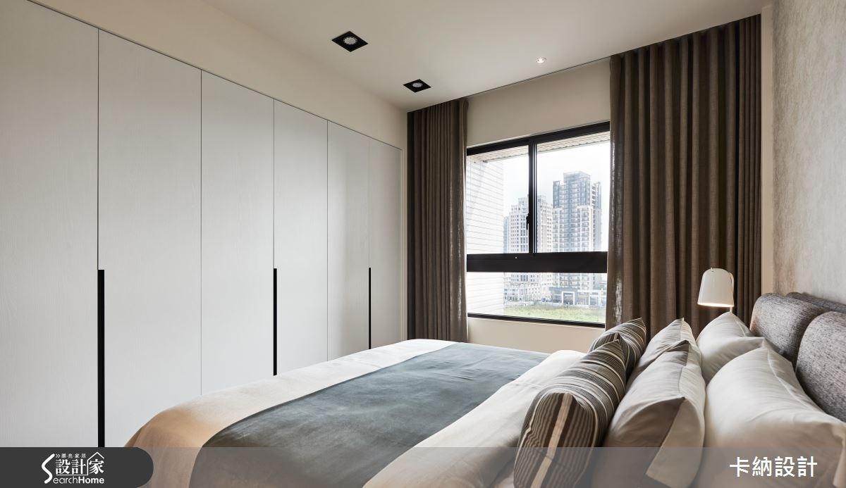 40坪新成屋(5年以下)_現代風臥室案例圖片_卡納文創/品納設計_卡納_24之21