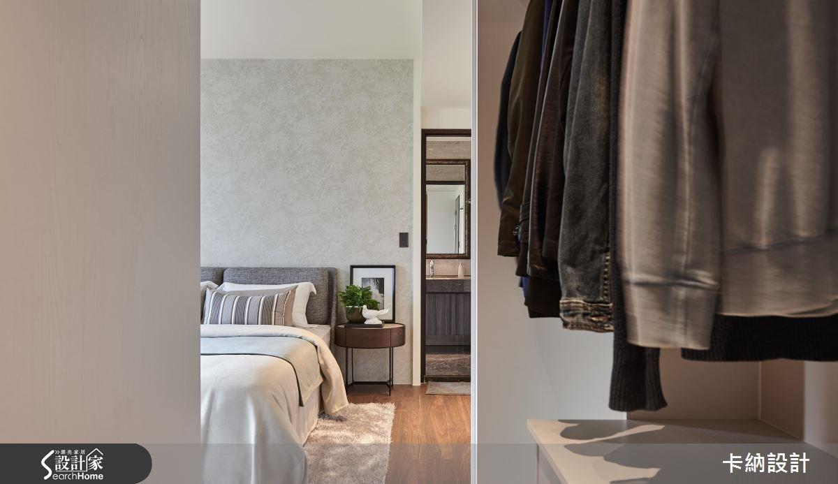 40坪新成屋(5年以下)_現代風臥室案例圖片_卡納文創/品納設計_卡納_24之23