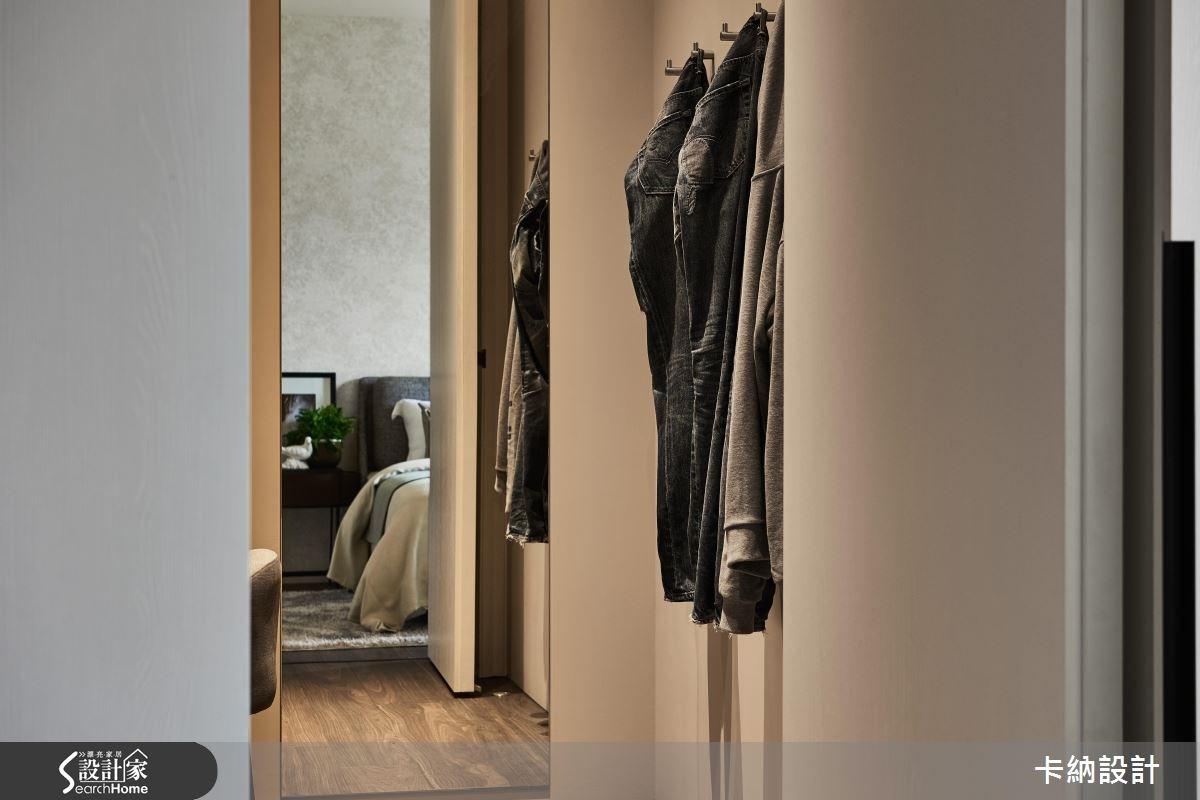 40坪新成屋(5年以下)_現代風更衣間案例圖片_卡納文創/品納設計_卡納_24之24