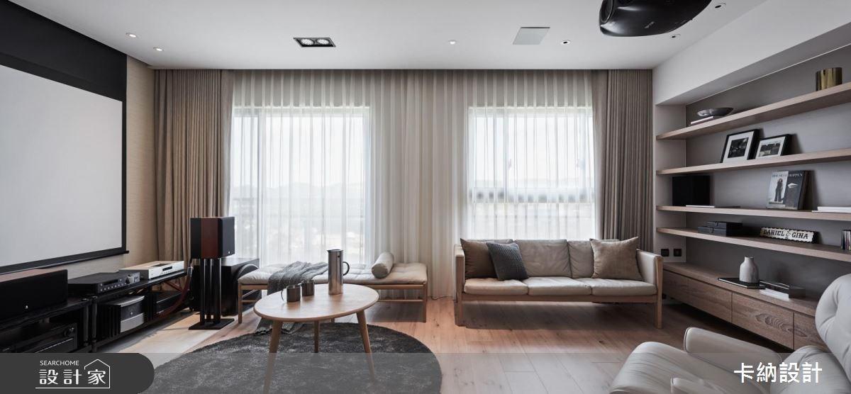 20坪新成屋(5年以下)_現代風客廳案例圖片_卡納文創/品納設計_卡納_26之9