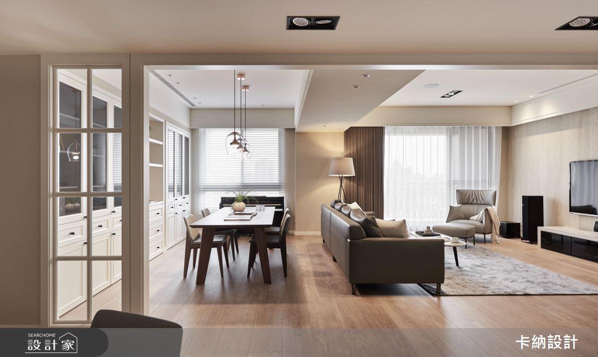 45坪新成屋(5年以下)_美式風餐廳案例圖片_卡納文創/品納設計_卡納_27之3