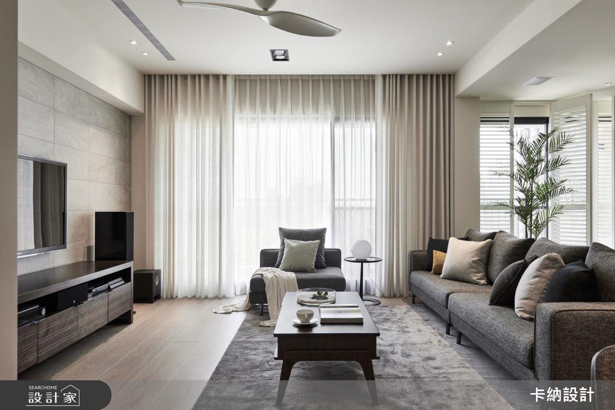 30坪新成屋(5年以下)_現代風客廳案例圖片_卡納文創/品納設計_卡納_28之1