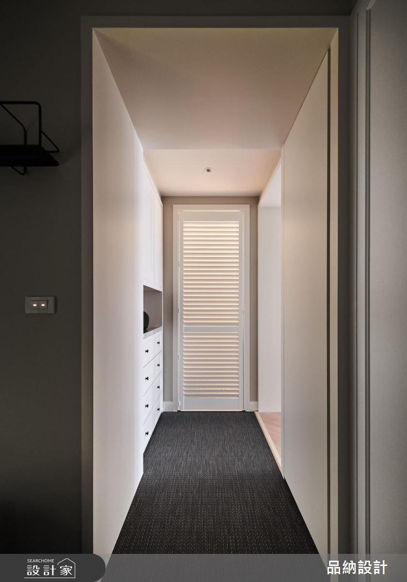 30坪新成屋(5年以下)_美式風走廊案例圖片_卡納文創/品納設計_品納_31之16